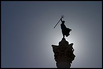 Top of memorial column, Union Square. San Francisco, California, USA ( color)