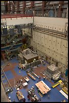 Detector room, Stanford Linear Accelerator. Stanford University, California, USA (color)