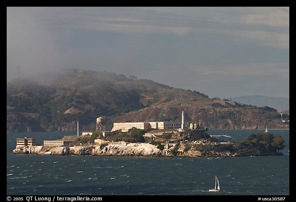 Alcatraz Island. San Francisco, California, USA (color)