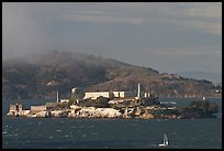 Alcatraz Island. San Francisco, California, USA ( color)