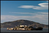 Alcatraz Island, late afternoon. San Francisco, California, USA ( color)