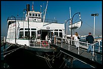 The Berkeley, a 1898 steam ferryboat that operated for 60 years in the SF Bay, Maritime Museum. San Diego, California, USA (color)