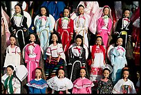 Mexican style dolls, Old Town. San Diego, California, USA ( color)