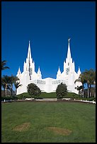 Church of Jesus-Christ of Latter-Day Saints, San Diego California temple. San Diego, California, USA (color)