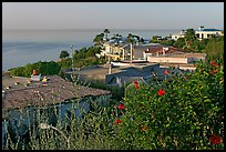 Hillside Houses overlooking the Pacific. Laguna Beach, Orange County, California, USA (color)