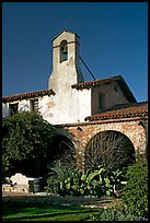 Bell tower. San Juan Capistrano, Orange County, California, USA