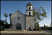 Mission basilica. San Juan Capistrano, Orange County, California, USA ( color)