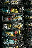 Crab traps close-up. Morro Bay, USA (color)