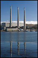 Duke Energy power plant. Morro Bay, USA ( color)