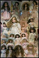 Danish dolls at Andersen gift shop. California, USA ( color)
