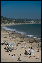 New Brighton State Beach, Capitola. Capitola, California, USA (color)