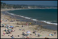 New Brighton State Beach, afternoon, Capitola. Capitola, California, USA ( color)