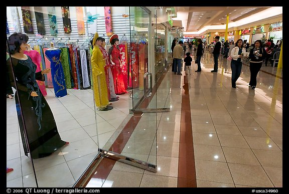 Picture/Photo: Ao Dai Vietnamese traditional formal dresses, Grand ...