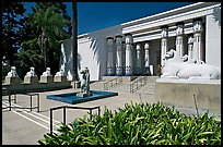 Egyptian Museum at Rosicrucian Park. San Jose, California, USA ( color)