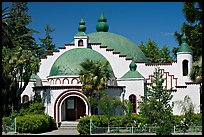 Planetarium in moorish style, Rosicrucian Museum. San Jose, California, USA ( color)