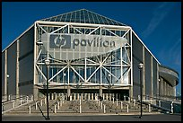 HP Pavilion, afternoon. San Jose, California, USA (color)