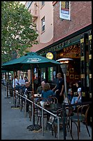 Pub, San Pedro Square. San Jose, California, USA ( color)