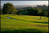 Stanford Golf Course. Stanford University, California, USA