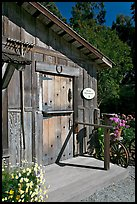 Barn-style shop, Allied Arts Guild. Menlo Park,  California, USA ( color)