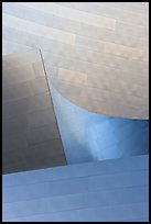 Facade detail, Walt Disney Concert Hall. Los Angeles, California, USA