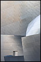 Steel Facade detail, Walt Disney Concert Hall. Los Angeles, California, USA ( color)