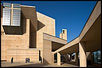 Cathedral of our Lady of the Angels, designed by Jose Rafael Moneo. Los Angeles, California, USA