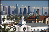 Downtown skyline. Los Angeles, California, USA