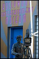 Entrance of the Hollywood Entertainment Museum. Hollywood, Los Angeles, California, USA (color)