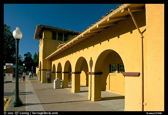 Picture Photo Former Southern Pacific Railroad Depot
