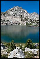 Saddlebag lake, John Muir Wilderness. California, USA ( color)
