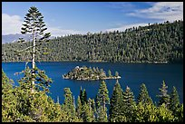 Fannette Island, Emerald Bay, California. USA