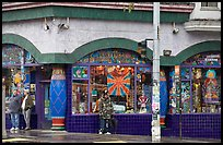 Colorful corner store. San Francisco, California, USA