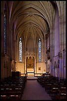 Side chapel, Grace Cathedral. San Francisco, California, USA
