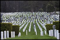San Francisco National Cemetery, Presidio of San Francisco. San Francisco, California, USA (color)