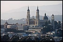 St Ignatius Church, University of San Francisco. San Francisco, California, USA (color)