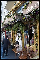 Italian restaurant, Little Italy, North Beach. San Francisco, California, USA ( color)