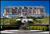 Domain Carneros winery in Louis XV chateau style. Napa Valley, California, USA (color)
