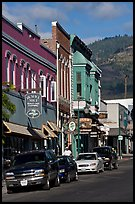 Historic buildings, Yreka. California, USA ( color)