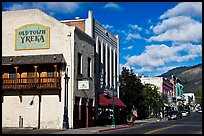 Old Town, Yreka. California, USA ( color)
