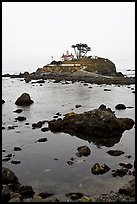 Crescent City Lighthouse, Crescent City. California, USA (color)