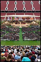 Class of 2009 commencement. Stanford University, California, USA (color)
