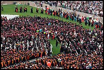 Graduation ceremony. Stanford University, California, USA (color)