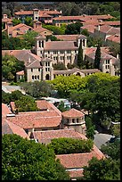 Campus seen from above. Stanford University, California, USA