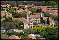Campus seen from Hoover Tower. Stanford University, California, USA (color)