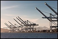 Port of Oakland. Oakland, California, USA ( color)