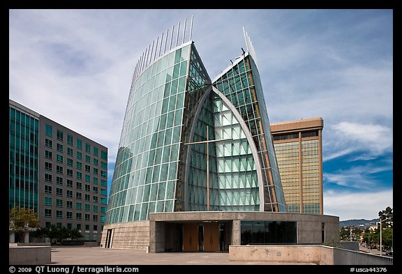 Cathedral of Christ the Light, first built in 21st century. Oakland, California, USA (color)