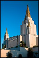 Church of Jesus Christ of Latter-Day Saints. Oakland, California, USA (color)