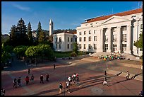 University of California at Berkeley Campus. Berkeley, California, USA (color)