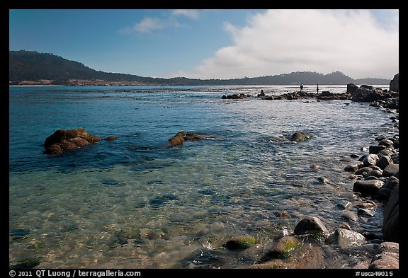 Carmel Bay. Carmel-by-the-Sea, California, USA (color)