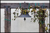 Historic bell. Monterey, California, USA (color)